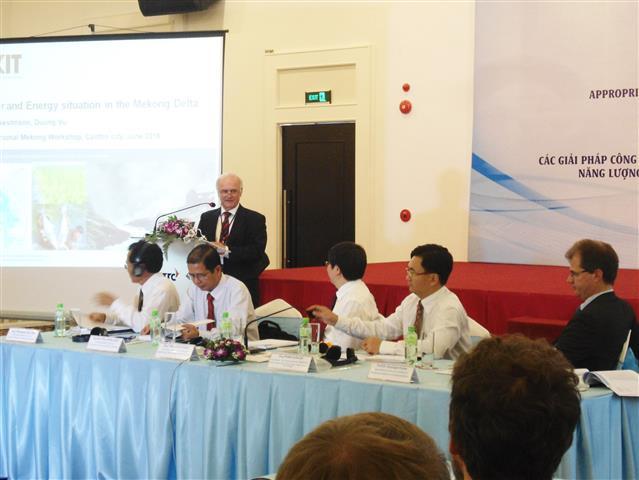 """Hội thảo quốc tế """"Các giải pháp công nghệ phù hợp cho quản lý tổng hợp tài nguyên nước, năng lượng và sử dụng đất đai vùng ĐBSCL"""""""
